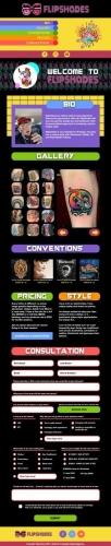 Tattoo Website Design Boynton Beach Florida